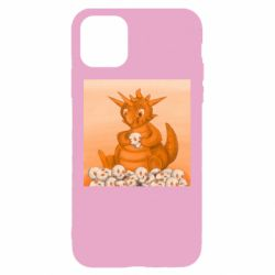 Чохол для iPhone 11 Cute dragon with skulls