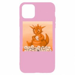 Чохол для iPhone 11 Pro Cute dragon with skulls