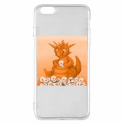 Чохол для iPhone 6 Plus/6S Plus Cute dragon with skulls