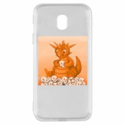 Чохол для Samsung J3 2017 Cute dragon with skulls