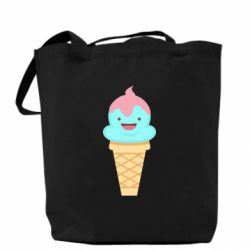 Сумка Cute face ice cream