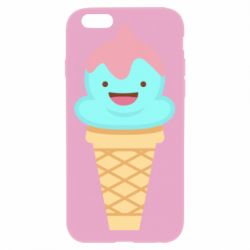 Чохол для iPhone 6/6S Cute face ice cream