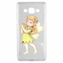 Чохол для Samsung A5 2015 Cute Fairy in watercolor style