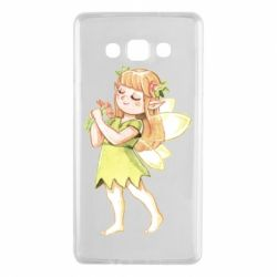 Чохол для Samsung A7 2015 Cute Fairy in watercolor style