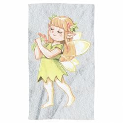 Рушник Cute Fairy in watercolor style