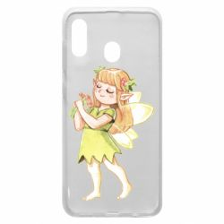Чохол для Samsung A30 Cute Fairy in watercolor style