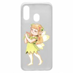 Чохол для Samsung A40 Cute Fairy in watercolor style