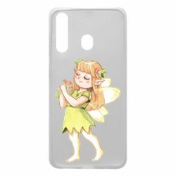 Чохол для Samsung A60 Cute Fairy in watercolor style