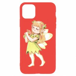 Чехол для iPhone 11 Pro Max Cute Fairy in watercolor style