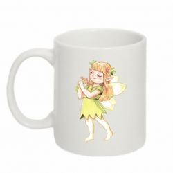 Кружка 320ml Cute Fairy in watercolor style