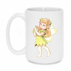 Кружка 420ml Cute Fairy in watercolor style