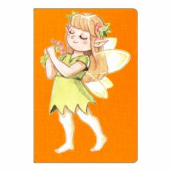 Блокнот А5 Cute Fairy in watercolor style