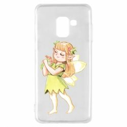 Чохол для Samsung A8 2018 Cute Fairy in watercolor style