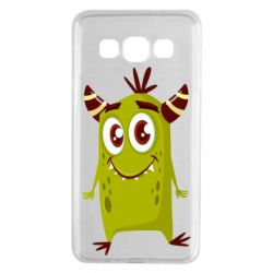 Чохол для Samsung A3 2015 Cute green monster