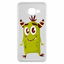 Чохол для Samsung A3 2016 Cute green monster