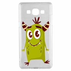 Чохол для Samsung A5 2015 Cute green monster