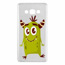 Чохол для Samsung A7 2015 Cute green monster