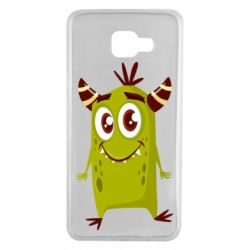 Чохол для Samsung A7 2016 Cute green monster