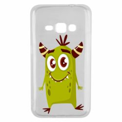 Чохол для Samsung J1 2016 Cute green monster