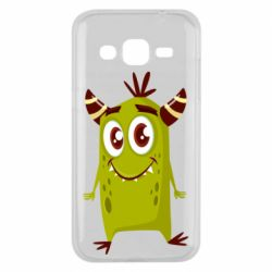 Чохол для Samsung J2 2015 Cute green monster