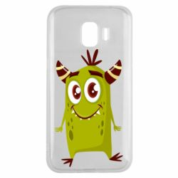 Чохол для Samsung J2 2018 Cute green monster
