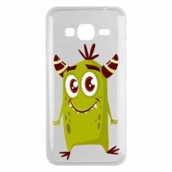 Чохол для Samsung J3 2016 Cute green monster