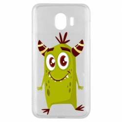 Чохол для Samsung J4 Cute green monster