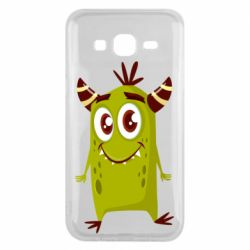 Чохол для Samsung J5 2015 Cute green monster