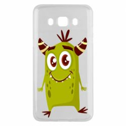 Чохол для Samsung J5 2016 Cute green monster
