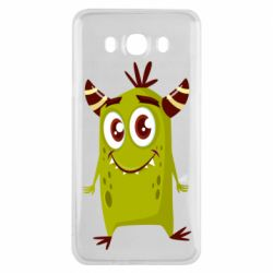 Чохол для Samsung J7 2016 Cute green monster