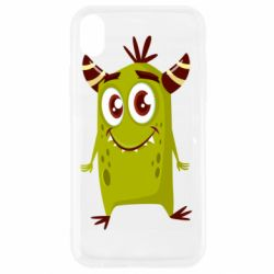 Чохол для iPhone XR Cute green monster