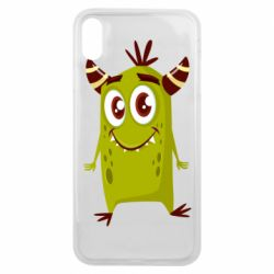 Чохол для iPhone Xs Max Cute green monster