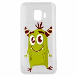Чохол для Samsung J2 Core Cute green monster