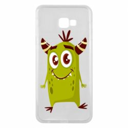 Чохол для Samsung J4 Plus 2018 Cute green monster