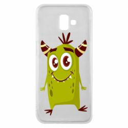 Чохол для Samsung J6 Plus 2018 Cute green monster
