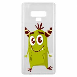 Чохол для Samsung Note 9 Cute green monster