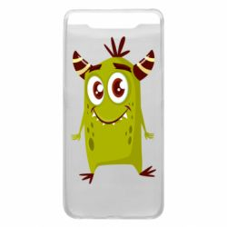 Чохол для Samsung A80 Cute green monster