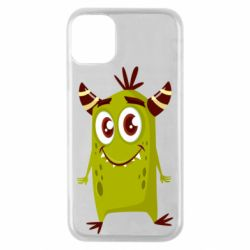Чохол для iPhone 11 Pro Cute green monster