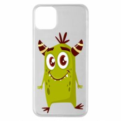 Чохол для iPhone 11 Pro Max Cute green monster