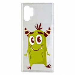 Чохол для Samsung Note 10 Plus Cute green monster