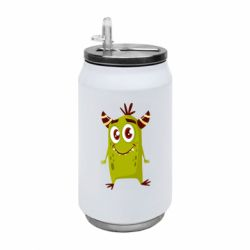 Термобанка 350ml Cute green monster