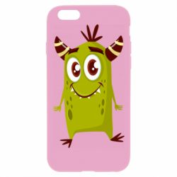 Чохол для iPhone 6 Plus/6S Plus Cute green monster