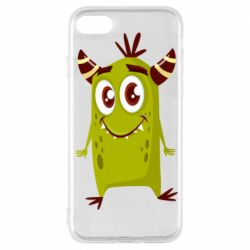 Чохол для iPhone 7 Cute green monster