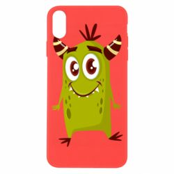 Чохол для iPhone X/Xs Cute green monster