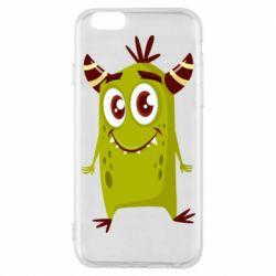 Чохол для iPhone 6/6S Cute green monster