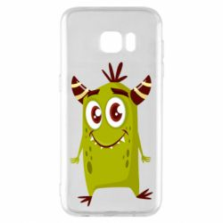 Чохол для Samsung S7 EDGE Cute green monster