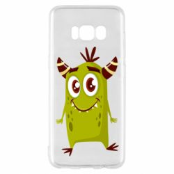 Чохол для Samsung S8 Cute green monster
