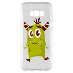 Чохол для Samsung S8+ Cute green monster