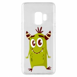 Чохол для Samsung S9 Cute green monster