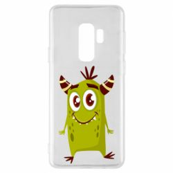 Чохол для Samsung S9+ Cute green monster